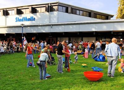 Kunterbuntes Kinderfest