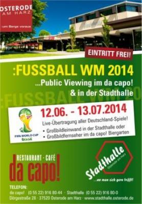 Public Viewing Fußball-Weltmeisterschaft