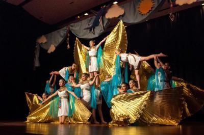 Tanzshow mit dem Tanzstudio Kerstin Baufeldt